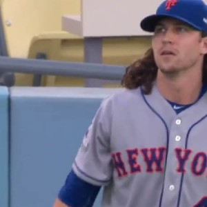 NLDS: New York Mets Lead 1-0 In First Game Against Los Angeles Dodgers