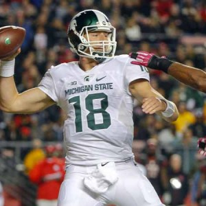 Rutgers Scarlet Knights Vs Michigan State Spartans Halftime Result 14-10